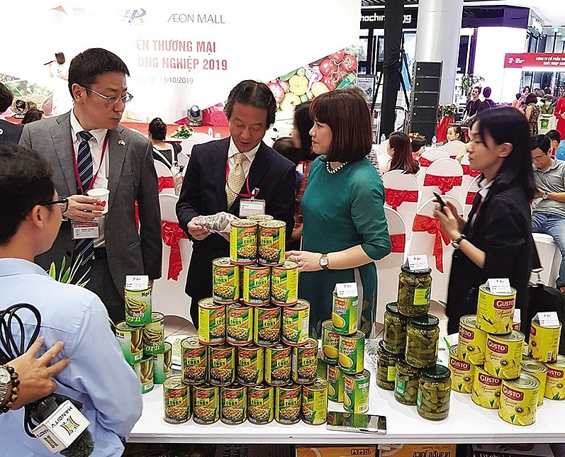 hanoi promotes agricultural products through aeon