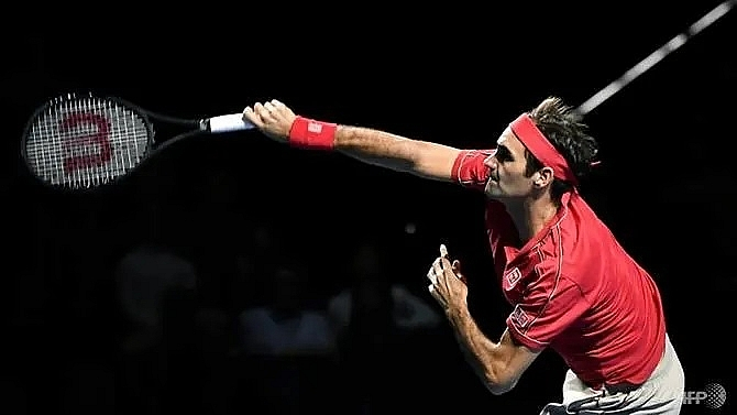 federer withdraws from paris masters as cilic tsonga progress