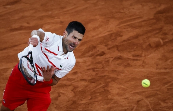 djokovic the snake tackles berankis the spearfisher at roland garros