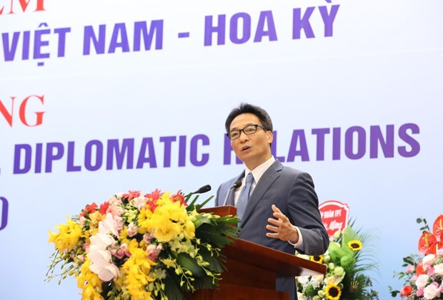hanoi ceremony marks 25 years of vietnam us relations