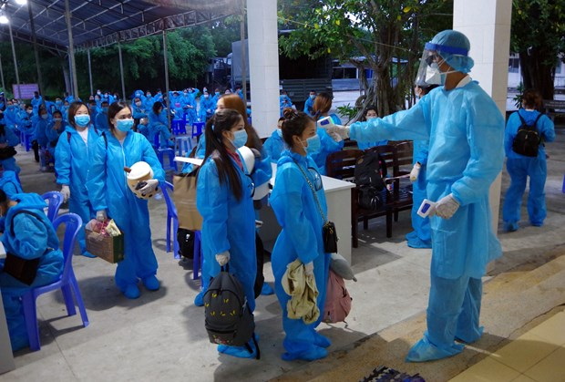 over 240 vietnamese citizens in repatriated from philippines