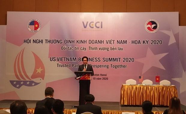 us vietnam business summit held in hanoi