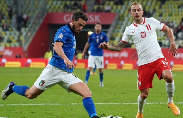 portugal italy hold onto nations league top spots as england down belgium