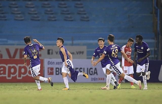 hanoi fc defeat hcm city fc in vleague 1