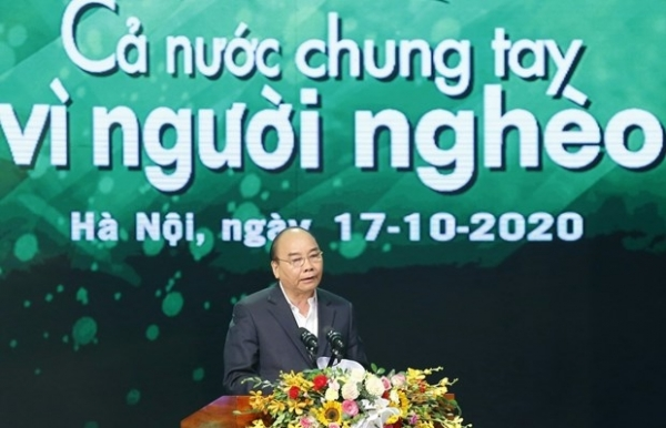 poverty eradication key to sustainable development pm