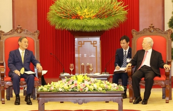 vietnam considers japan a leading long term partner top leader