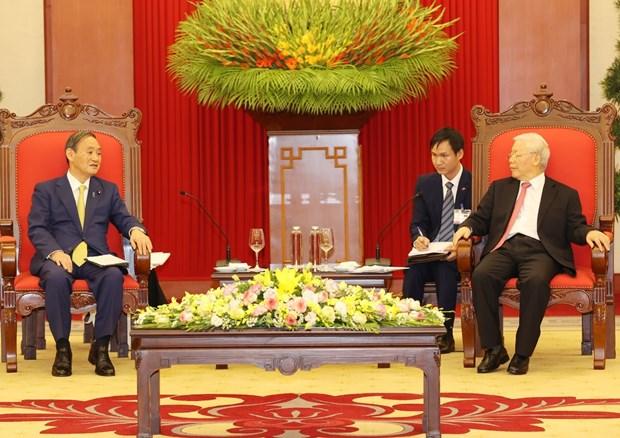 vietnam considers japan a leading long term partner top leader