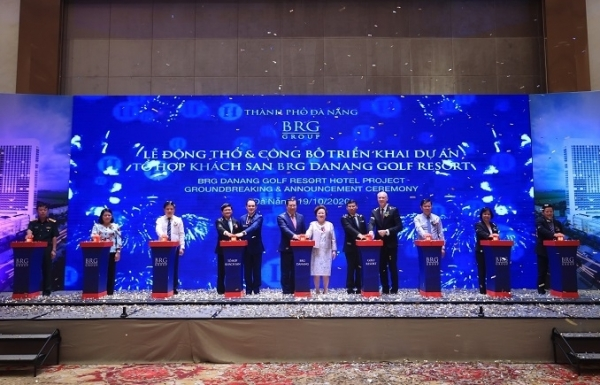 brg group announces brg danang golf resort hotel project
