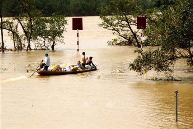 rok provides 300000 usd for vietnamese flood hit people