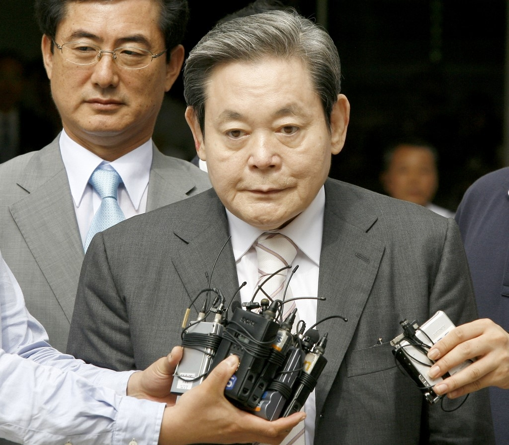 samsung electronics chairman lee kun hee dies at 78
