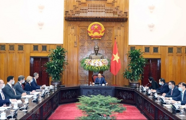 vietnam hopes for stronger partnership with us pm