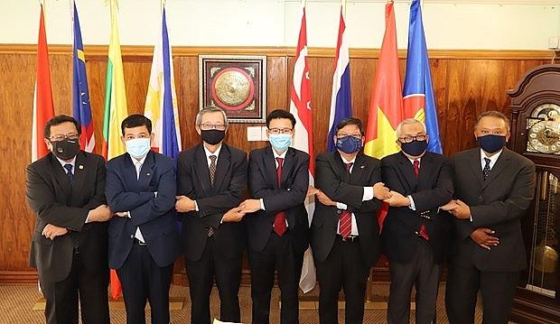 asean ambassadors to south africa hail vietnams preparation for 37th asean summit