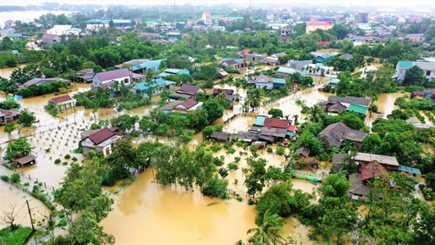 eu provides 13 million eur to assist flood victims in central vietnam