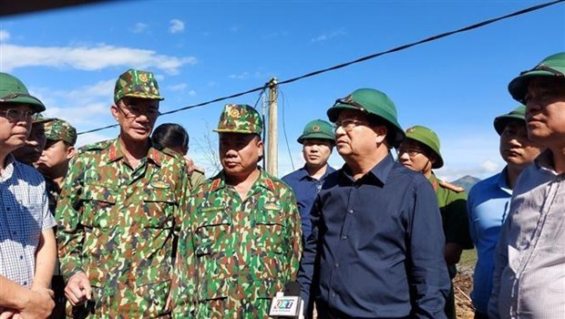 race against time to find landslide victims deputy pm