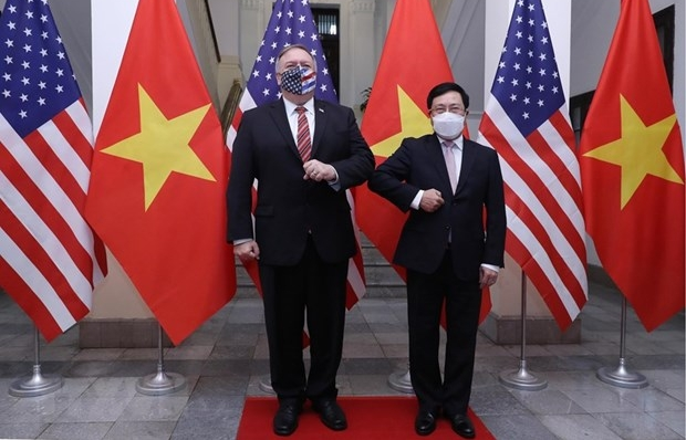 vietnam values comprehensive partnership with us deputy pm