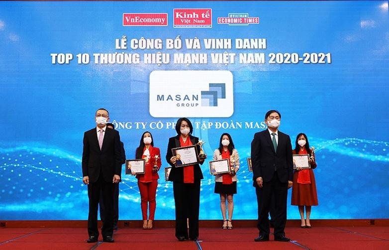 Masan honoured in Vietnam Top Strong Brands 2021