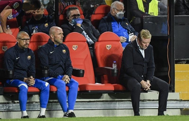 Ronald Koeman sacked as Barcelona coach
