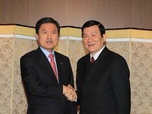 vietnam president wraps up visit to south korea