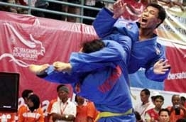national team holds third position in sea games
