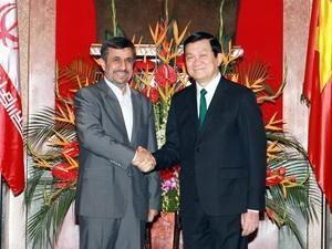 vietnam iran boost bilateral ties