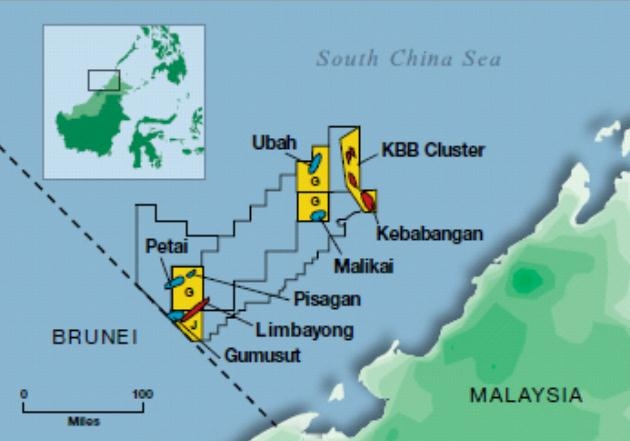 deepwater gumusut kakap field commences early production