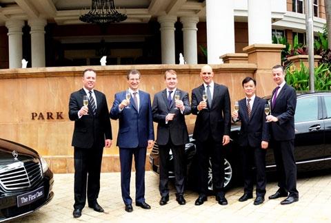 first class hotels choose mercedes benz s class