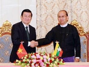 vietnam myanmar raise co operation