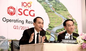 scg announces financial statements of 2013s third quarter and nine months