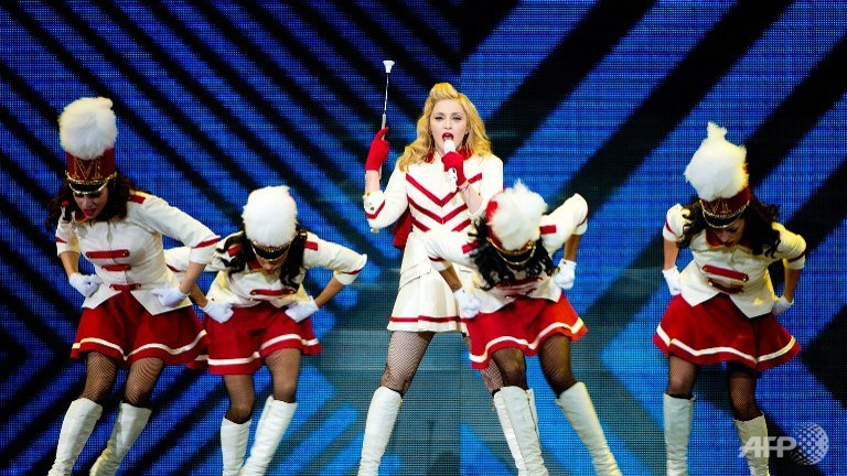 Madonna tops Forbes 2013 highest-paid musician list