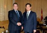 PM Dung receives German Vice Chancellor Gabriel