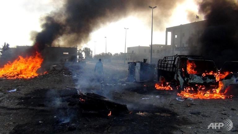 Syria air strikes on Islamic State 'capital' kill 63 people