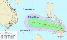Tropical depression heading for East Sea, likely to become storm