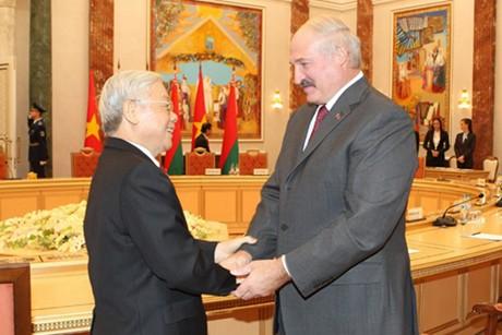 VN, Belarus strengthen all-faceted relationship