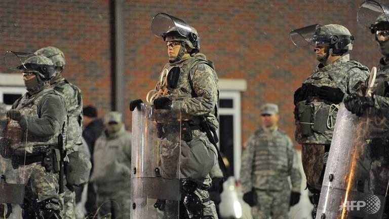 Ferguson calm as new US police shooting in spotlight