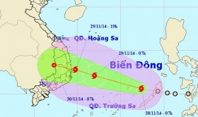 Storm Sinlaku likely to hit south-central Vietnam over weekend