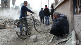 More than 500 dead in Syria regime raids since Oct