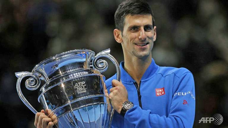 Novak Djokovic Cruises Kei Nishikori