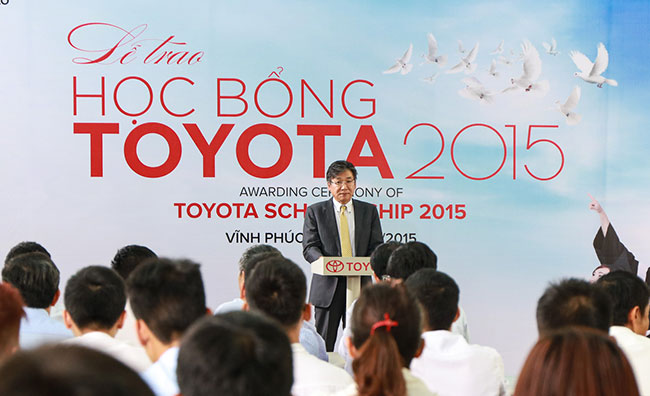 Toyota awards 115 scholarships to excellent science technology students
