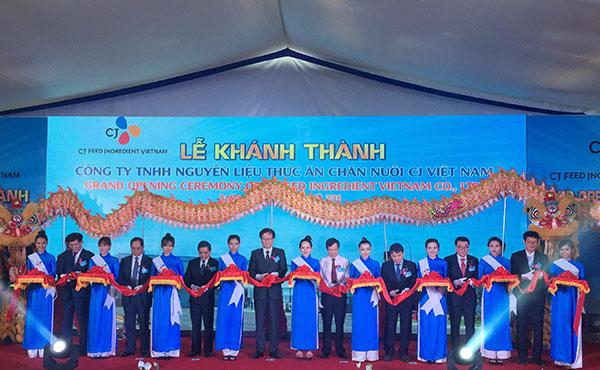 cj launches 183 million feed factory in ba ria vung tau