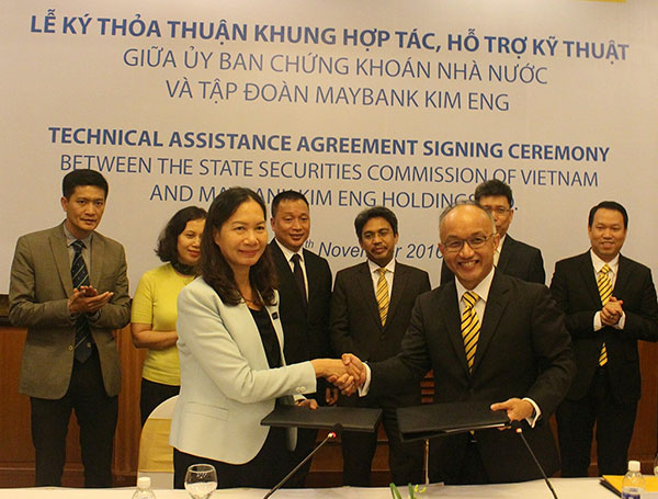 Maybank Kim Eng and State Securities Commission of Vietnam renew collaboration Money Banking Investments Shares