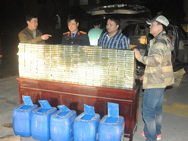 phu tho police catch heroin traffickers