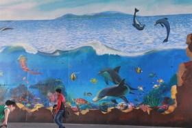 Street art livens up APEC Summit