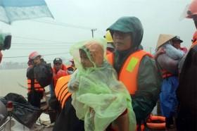 Typhoon Damrey death toll up, many areas still flooded