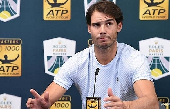 nadal pulls out of paris djokovic takes world number one spot