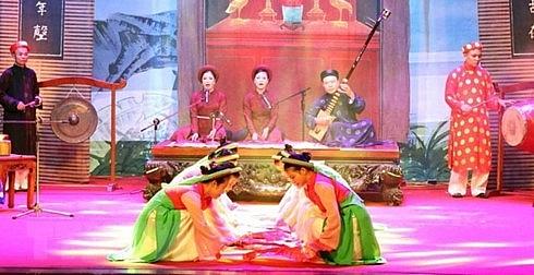 national ca tru festival opens in ha tinh