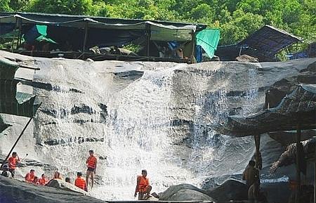 central vietnam waterfalls make a splash