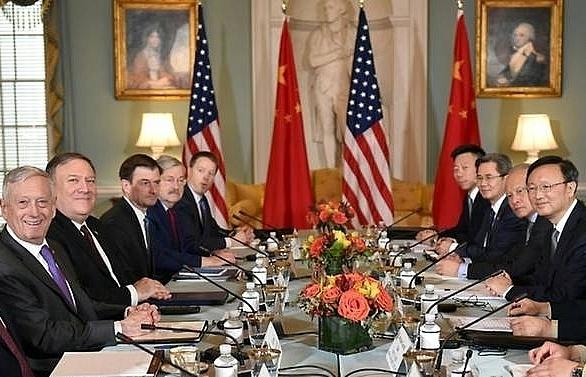 us denies china cold war but deep gaps persist