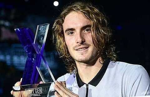 greeces tsitsipas beats de minaur to win next gen atp finals
