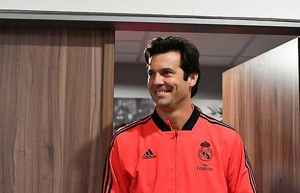real madrid reward interim boss solari with permanent contract