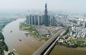 construction works destroys banks of sai gon river